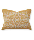 RugStudio presents Classic Home Villa Tuscan V050486 Scroll Prt Golden